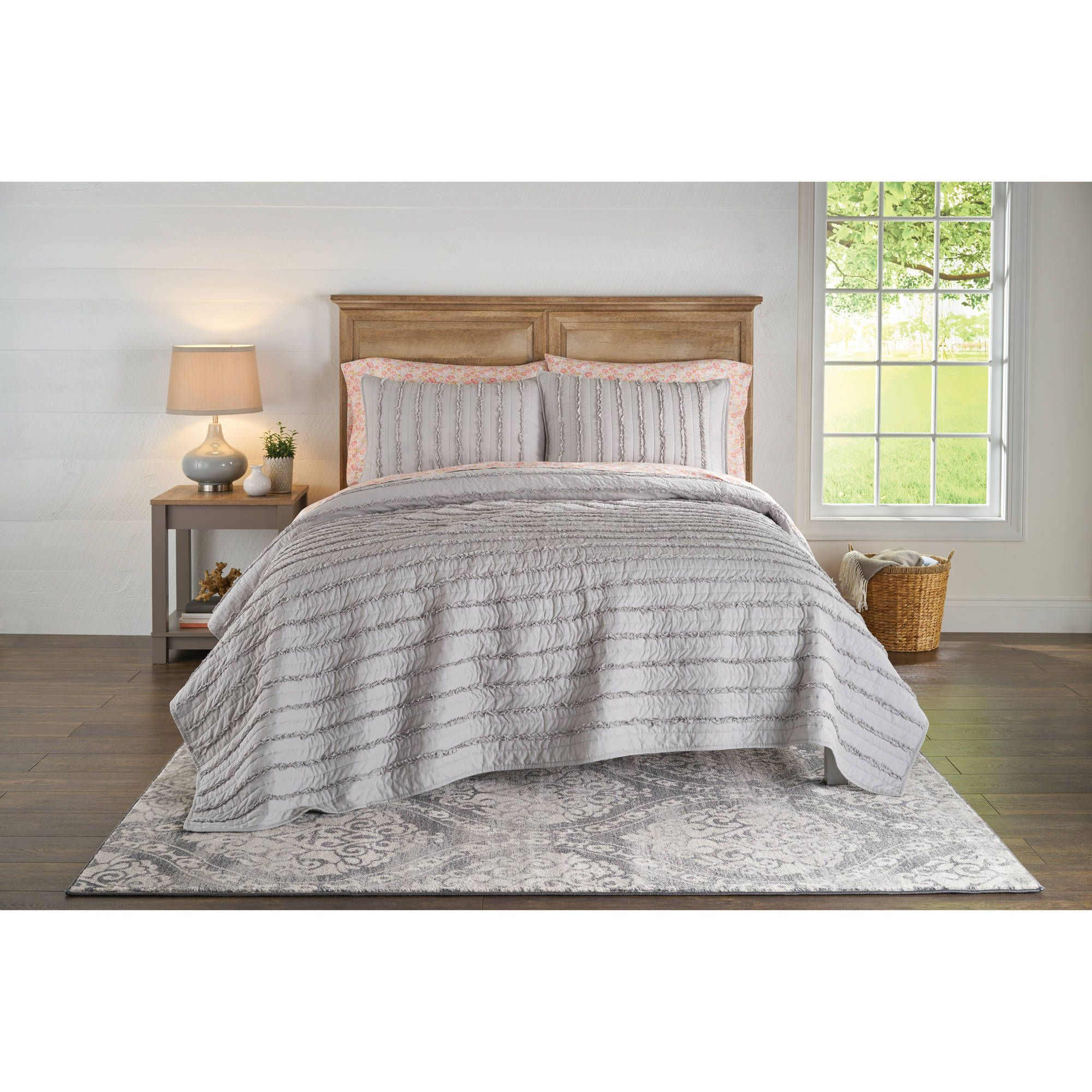 5646305307d690d50e62ce7aeb324073 - Better Homes And Gardens Pleated Diamond Quilt Collection