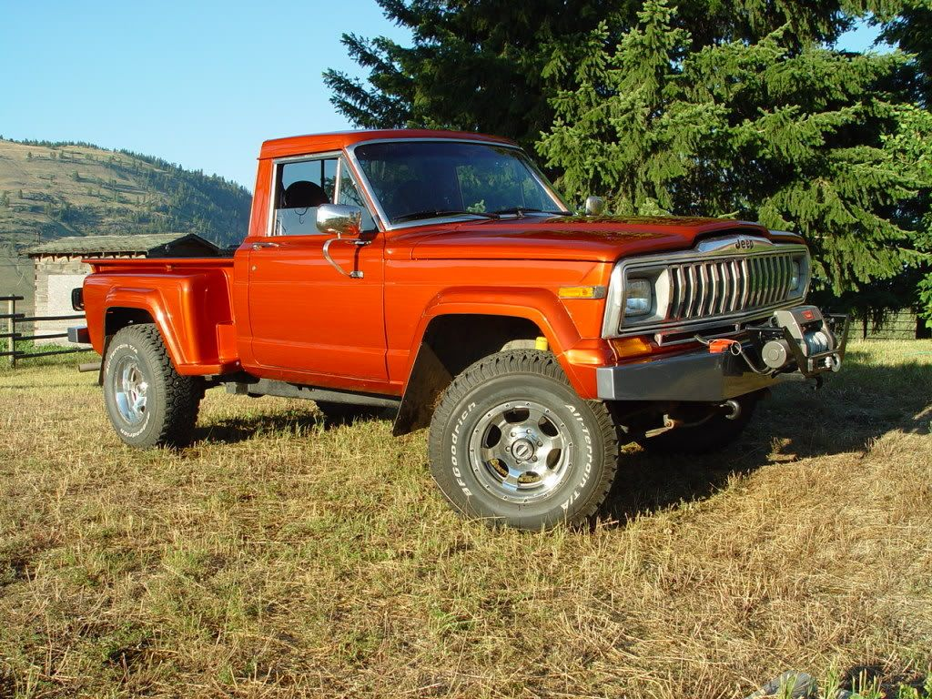 True story back in mid 1980s i owned a jeep j 10 stepside