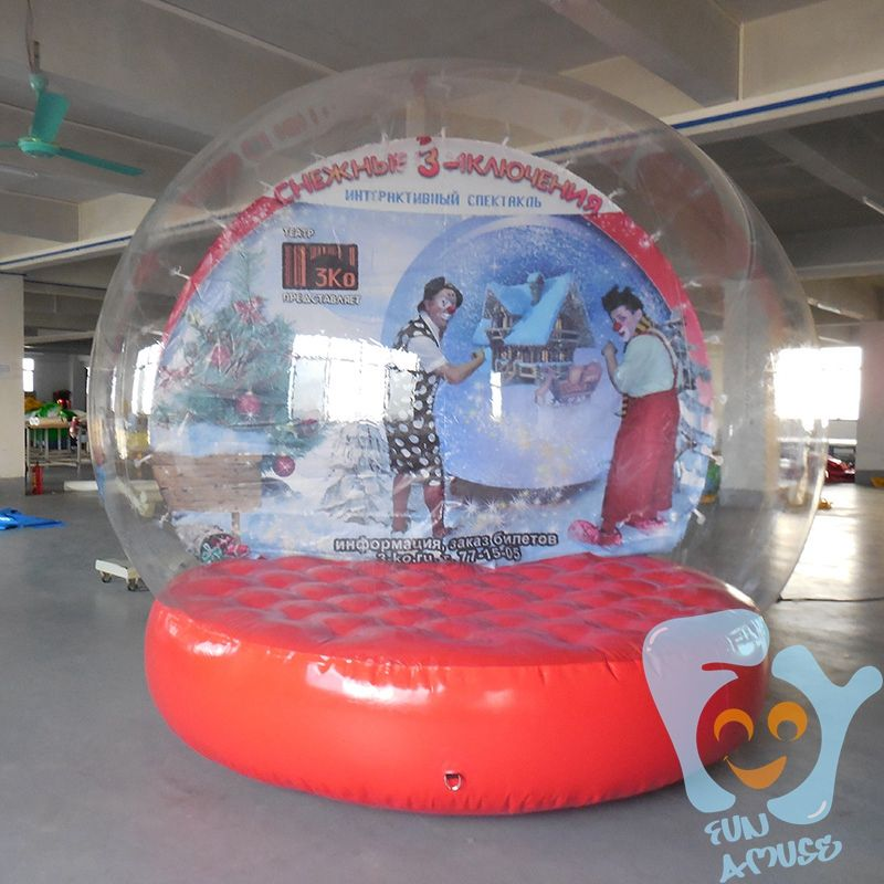 Christmas New Year Decoration 3m 9 8ft Giant Inflatable Snow Globe