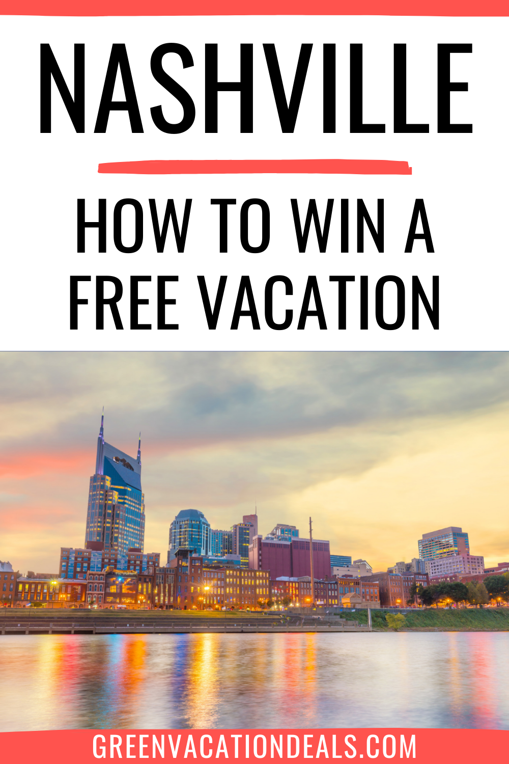 Nashville travel sweepstakes. Find out how to win a vacation in Tennessee. Enter Visit Music City: Good To Go Giveaway to win free airfare, Omni hotel stay, attraction passes, Chef's Tasting at E3 Chophouse, etc. Prize value=$2,850 #Nashville #Tennessee #MusicCity #VisitMusicCity #travel #travelforfree #freetravel #cheaptravel #budgettravel #budgettraveler #travelcheap #freetrip