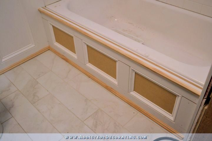 DIY Tub Skirt (Decorative Side Panel) For A Standard Apron-Side ...