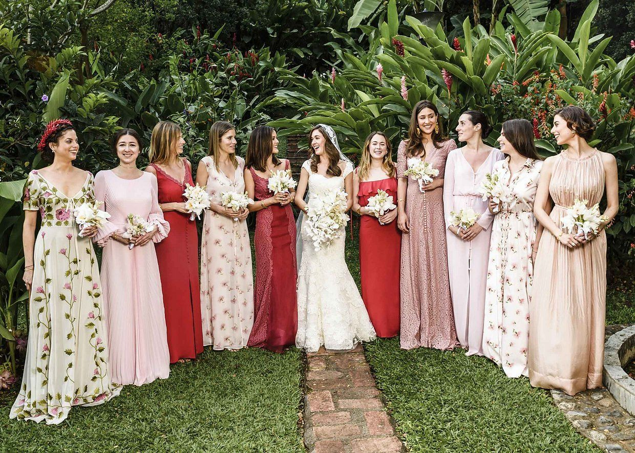 Can You Wear Black Red Or Even White To A Summer Wedding Summer Wedding Dress Bridesmaid Vogue Wedding