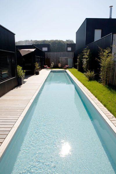 lap pool Pools Pinterest Piscine caron, Piscines et Les meilleurs - Comment Faire Une Piscine En Beton