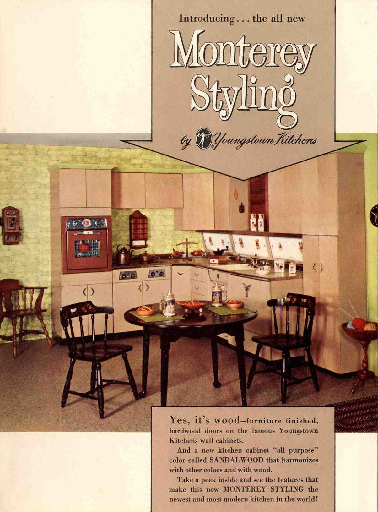 Youngstown Kitchens Monterey Cabinets Metal Kitchen Cabinets Vintage Kitchen Retro Kitchen