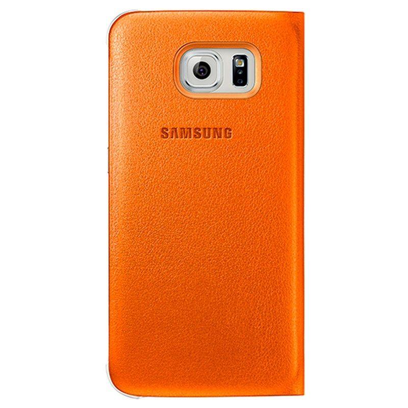 Samsung Galaxy S6 Lommebok Veske WG920PO- Oransje