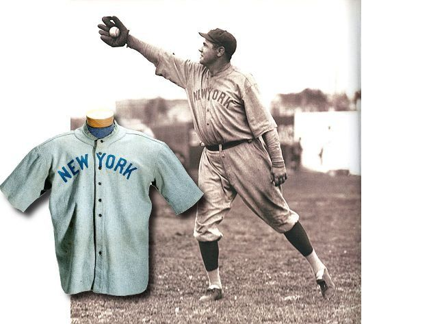 best website 8404b 76465 Babe Ruth jersey auctioned for $4.4 million, becomes most ...