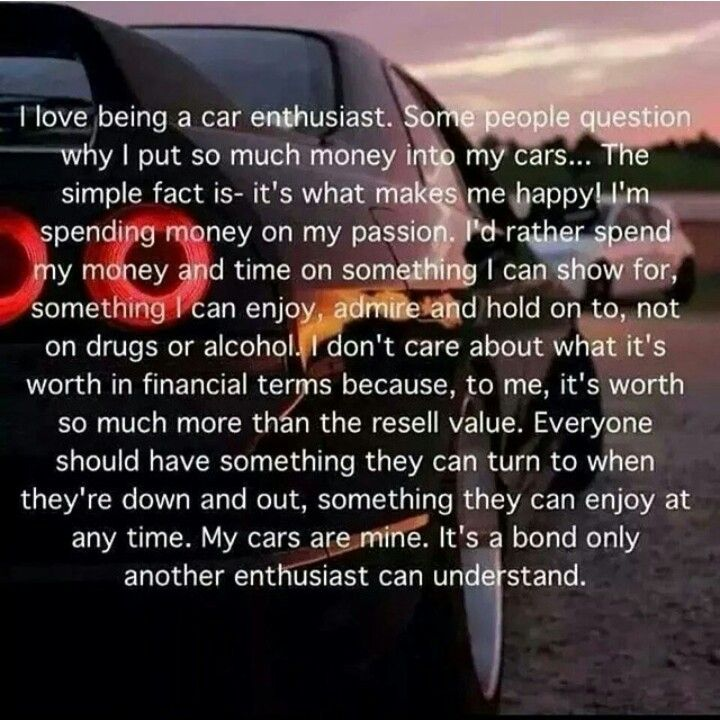 One of my favourite quotes | Everything | Pinterest | Car quotes ...
