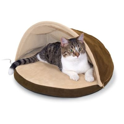 K Pet Products Thermo-Kitty Hut Heated Bed - Cat - Boutique Sale - PetSmart