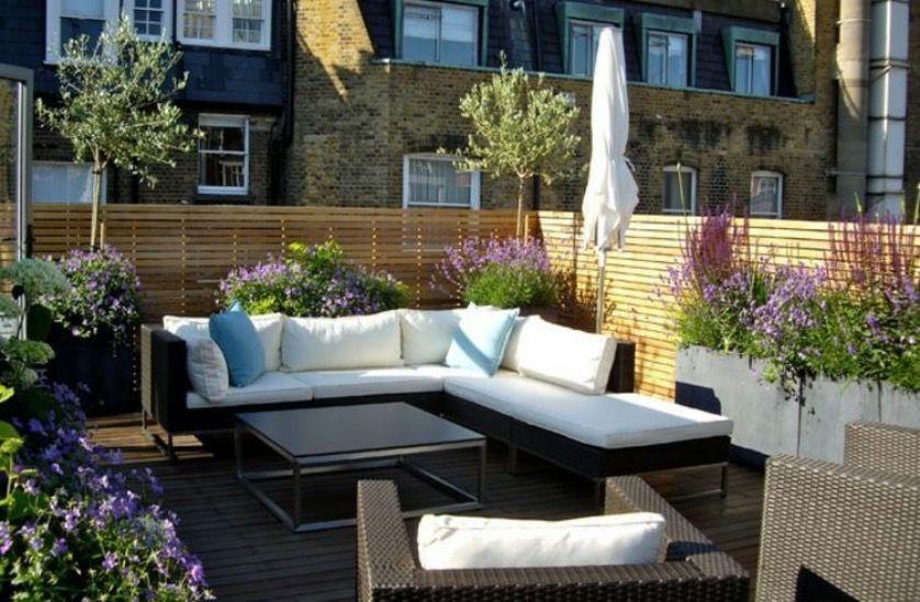 Epingle Sur Terrasses Et Jardin