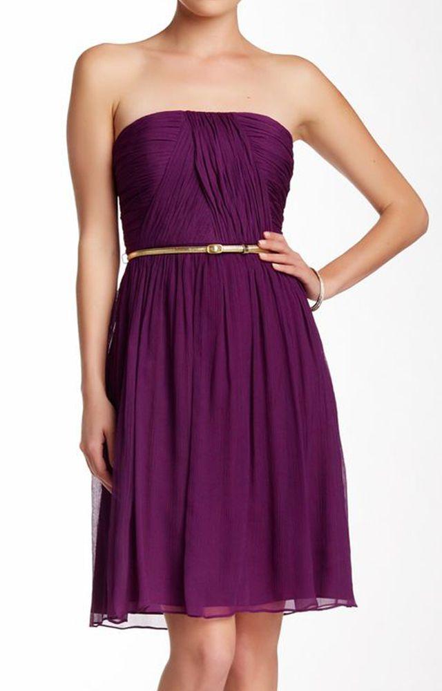 Donna Belted Silk Chiffon Dress | Pinterest | Mi estilo y Estilo