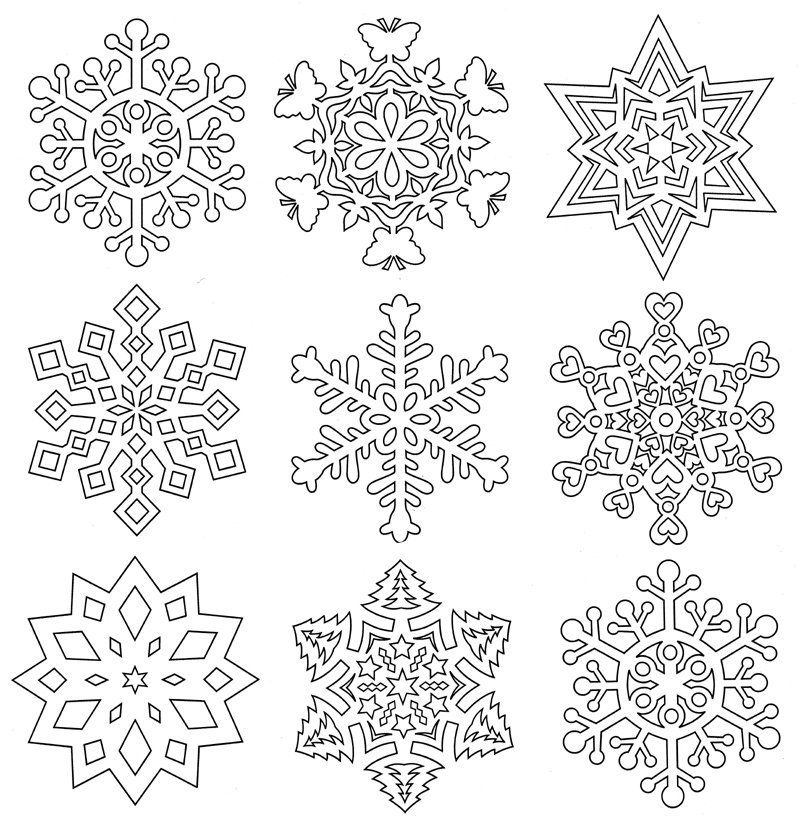 Aunt Martha\'s Special Edition - Snowflakes - Colonial Patterns, Inc ...