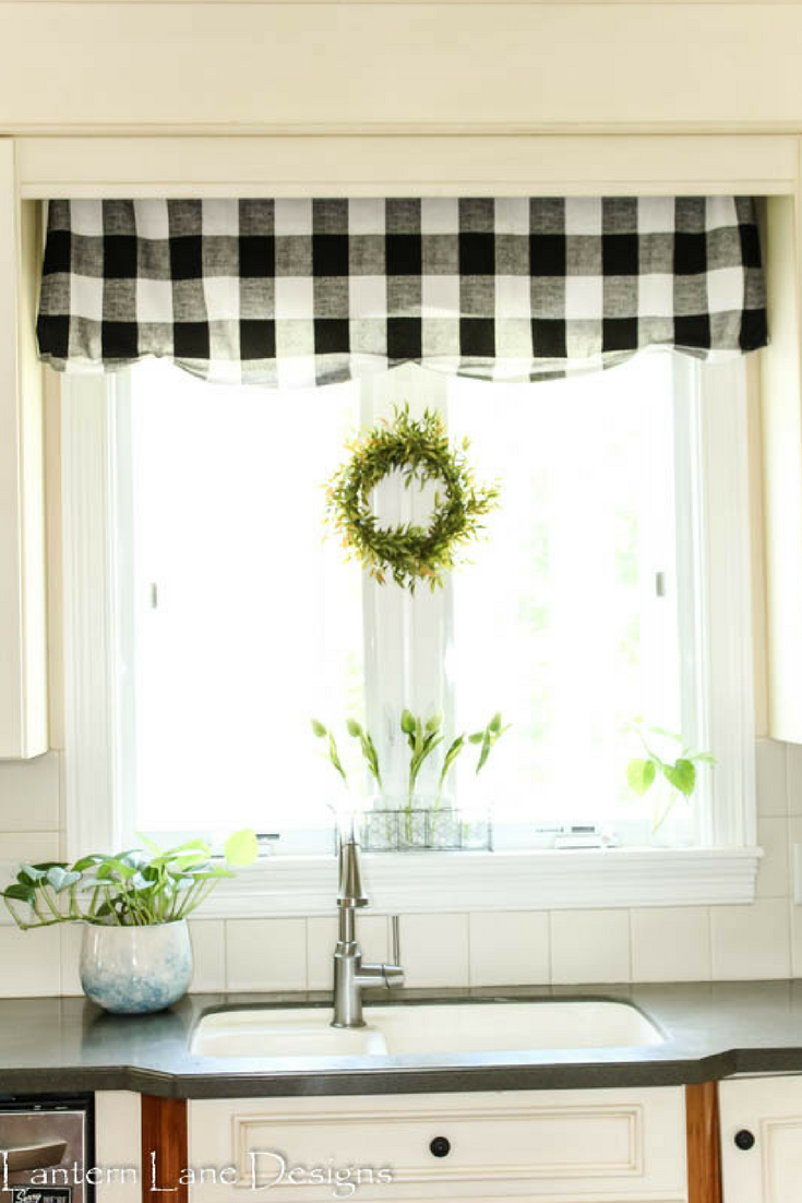 How to make a no sew valance | Valance, Yards and Fabrics