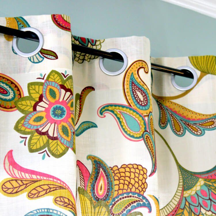 Making Grommet Curtains Is Easier Than It May Look With