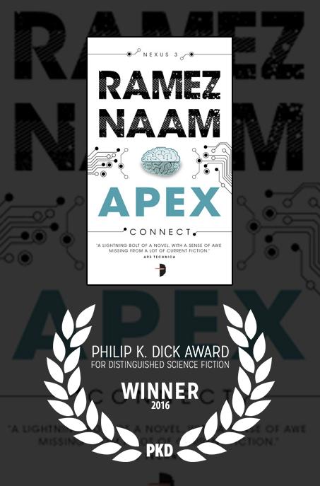Image result for apex winner of philip k dick award