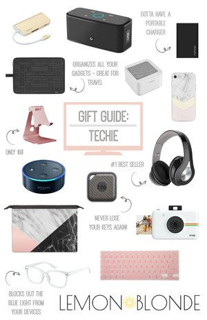 Christmas Tech Gifts 2019.Gift Guide For The Techie Christmas Gift Guide Technology Lover