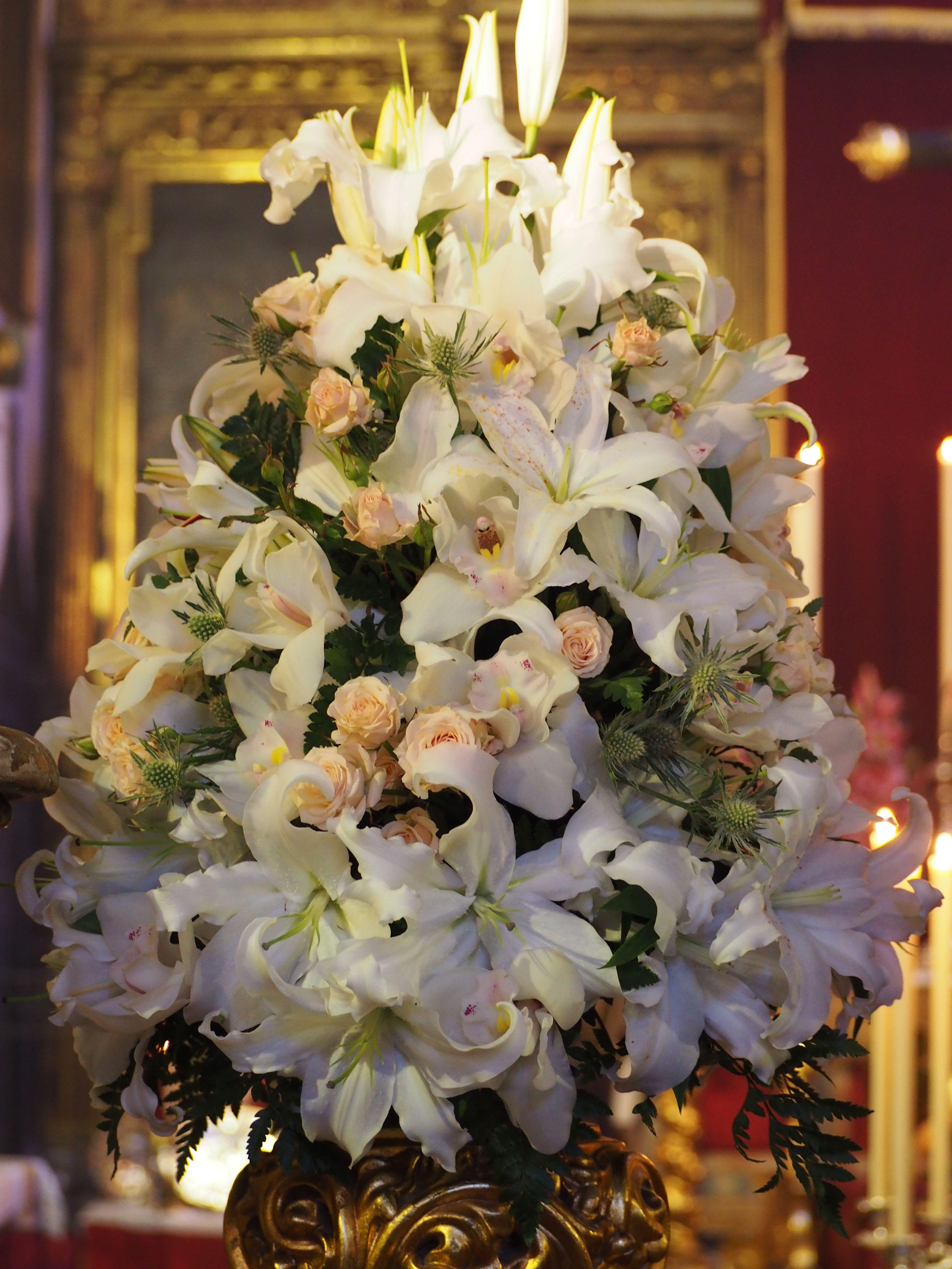 Virgen Del Buen Fin Hermandad De La Lanzada Sevilla Flores Floristería Ramos