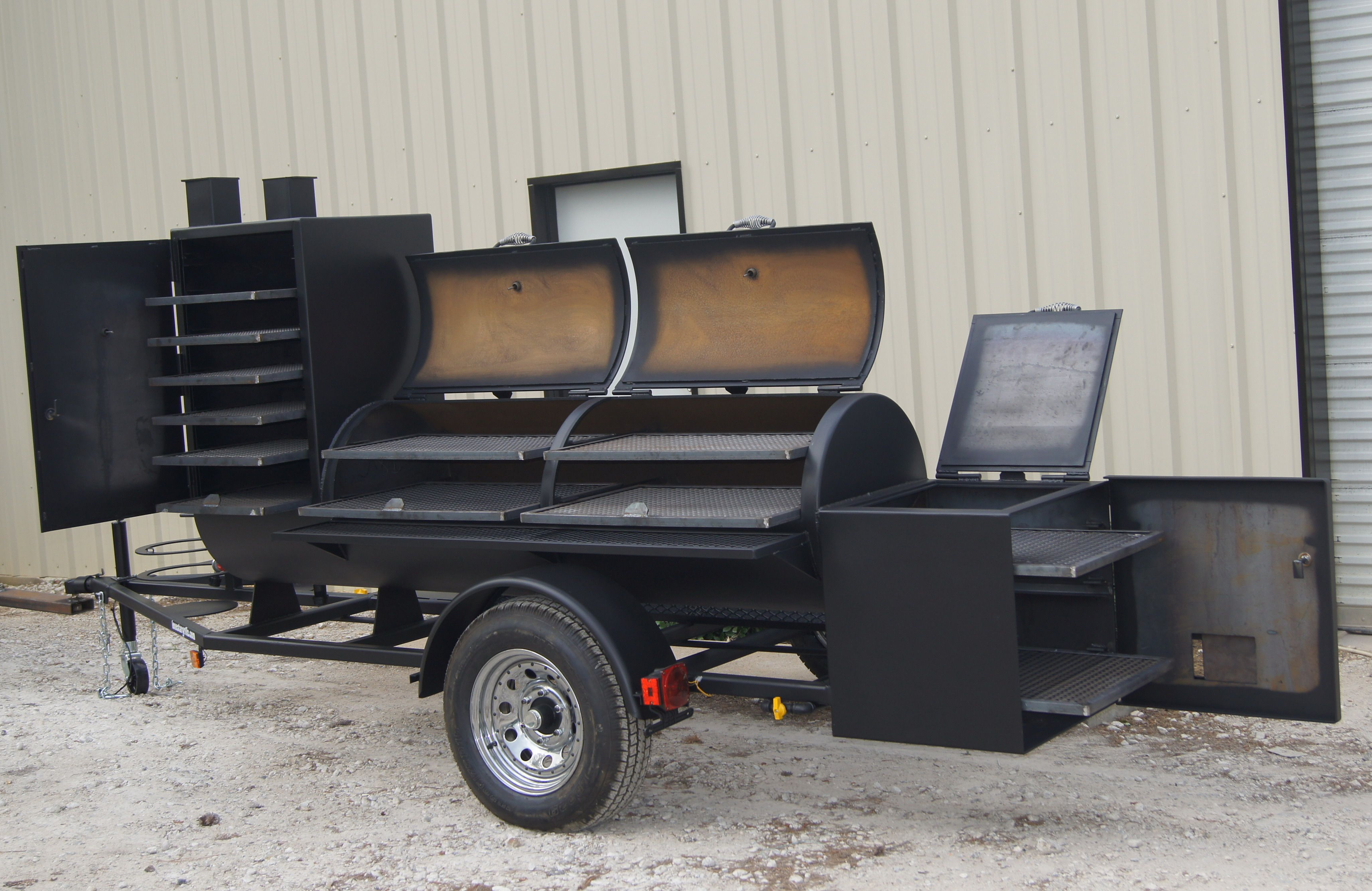 Trailer Pits by Lone Star Grillz 24x60 out of Conroe | Pits | Baby