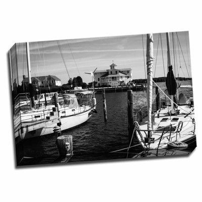 Picture it on Canvas 'Oxford on The Bay' Photographic Print on Wrapped Canvas