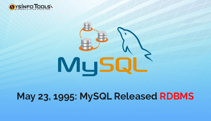 In 1995 Dayintechhistory Mysql Releases Rdbms For Web Pages To