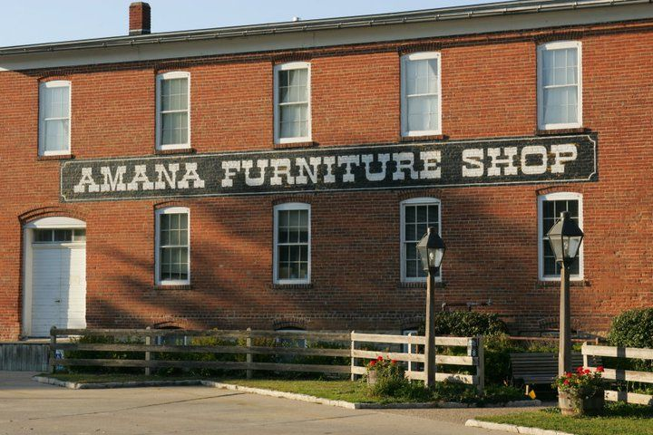 Amana Furniture Shop In Colonies, Iowa Very High Qualify Handcrafted  Furniture