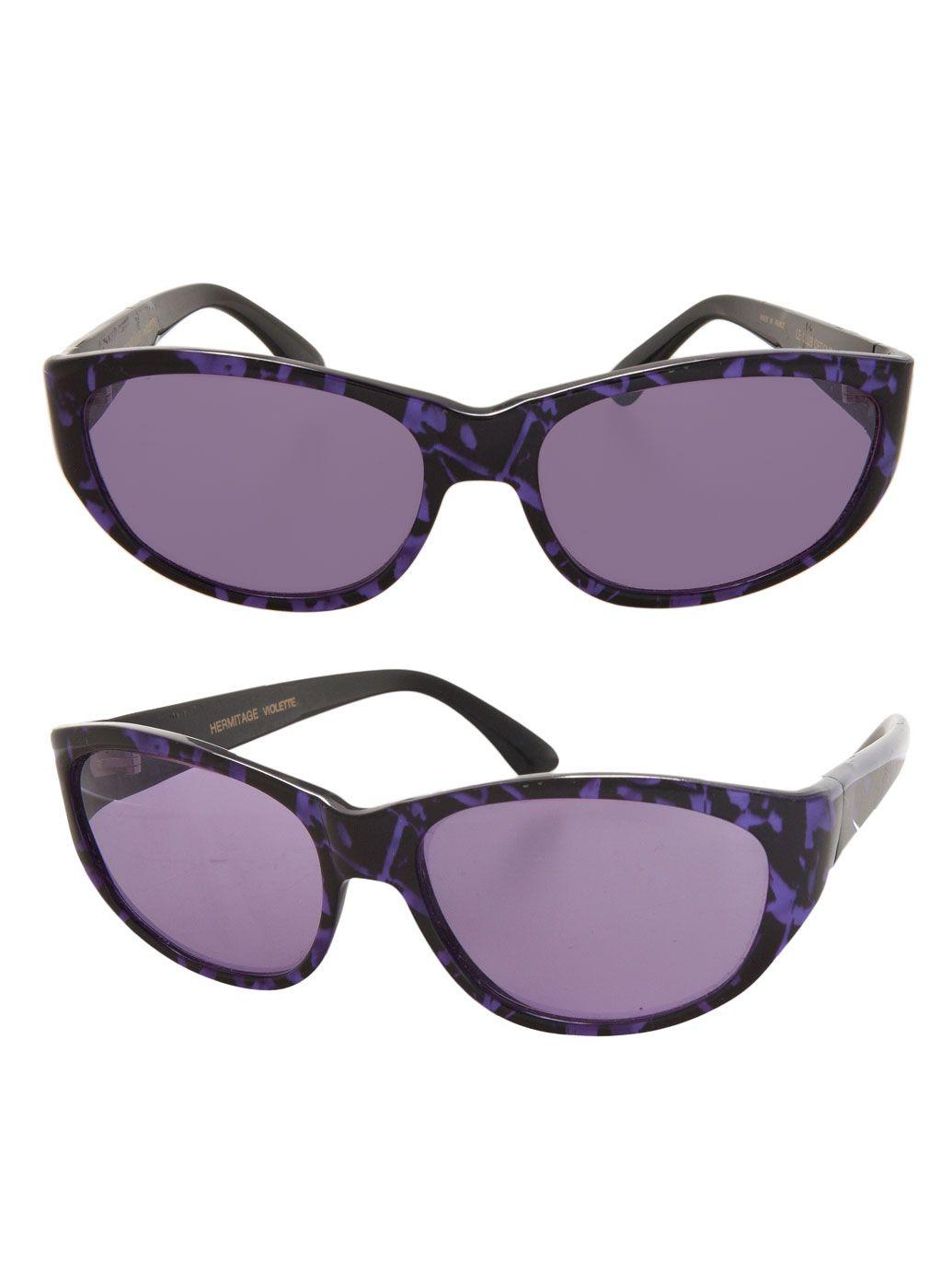 f41ea2e48 Vintage Le Club Optique Marbled Purple Sunglasses - American Apparel ...