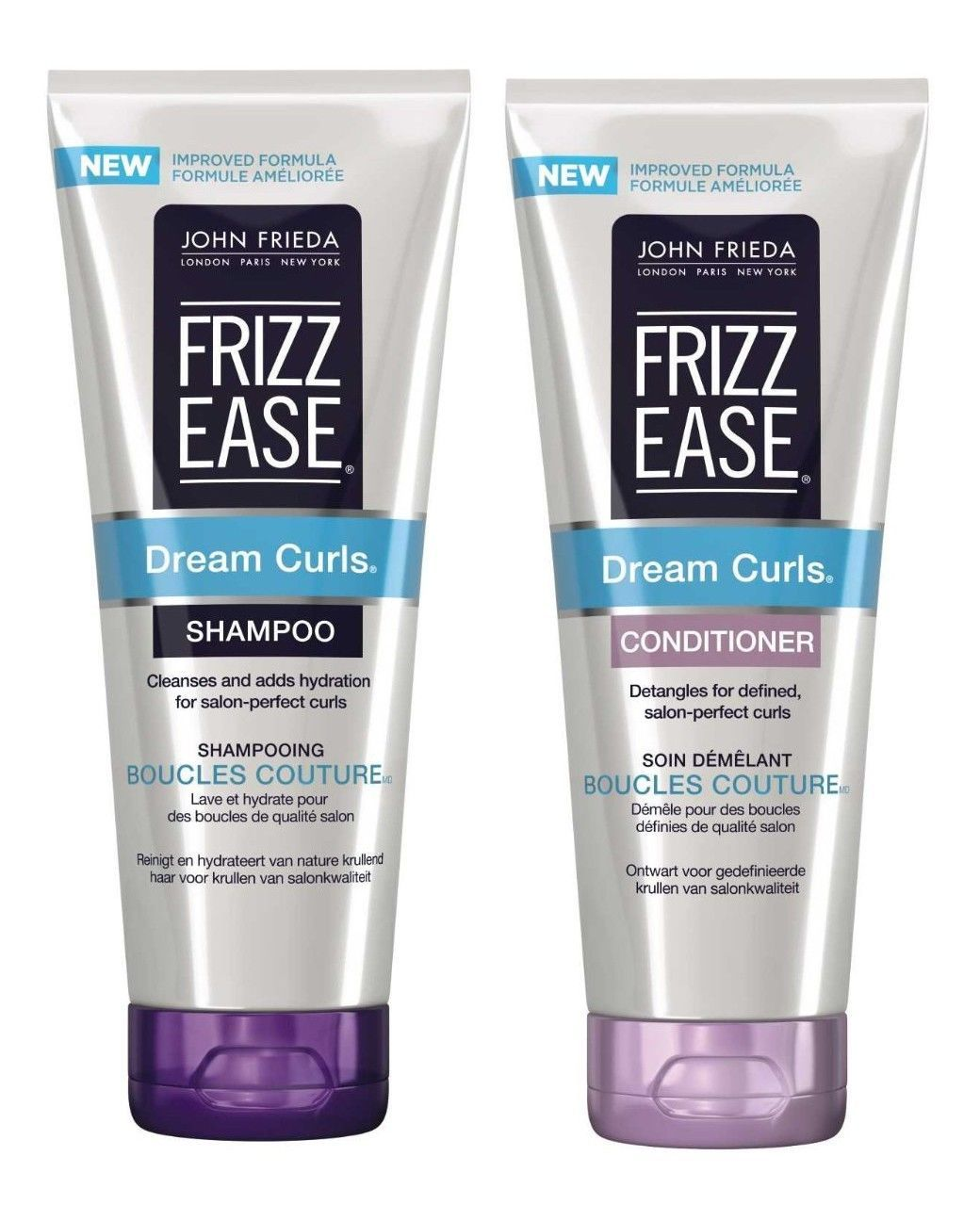 John Frieda Frizz Ease Dream Curls Shampoo Conditioner 250ml Each ... 5cee867de2