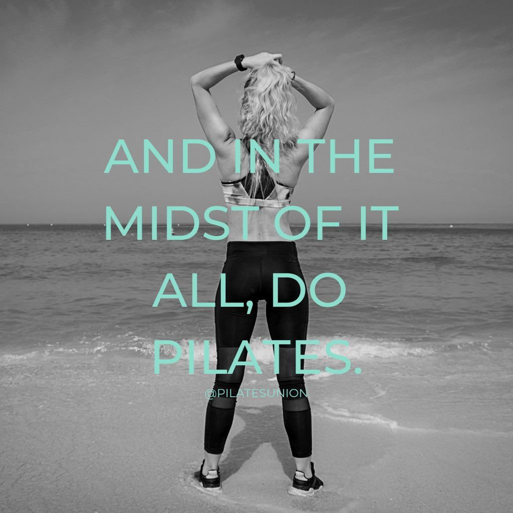 Pilates Union Tuesday Fitness Motivational Quotes Online