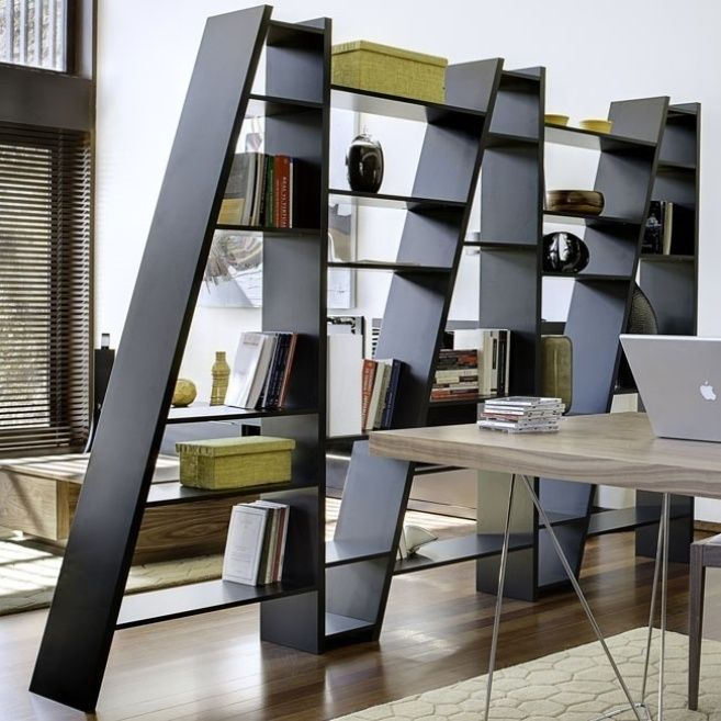 Home Office Room Dividers Ideas Bookshelf Room Divider Modern