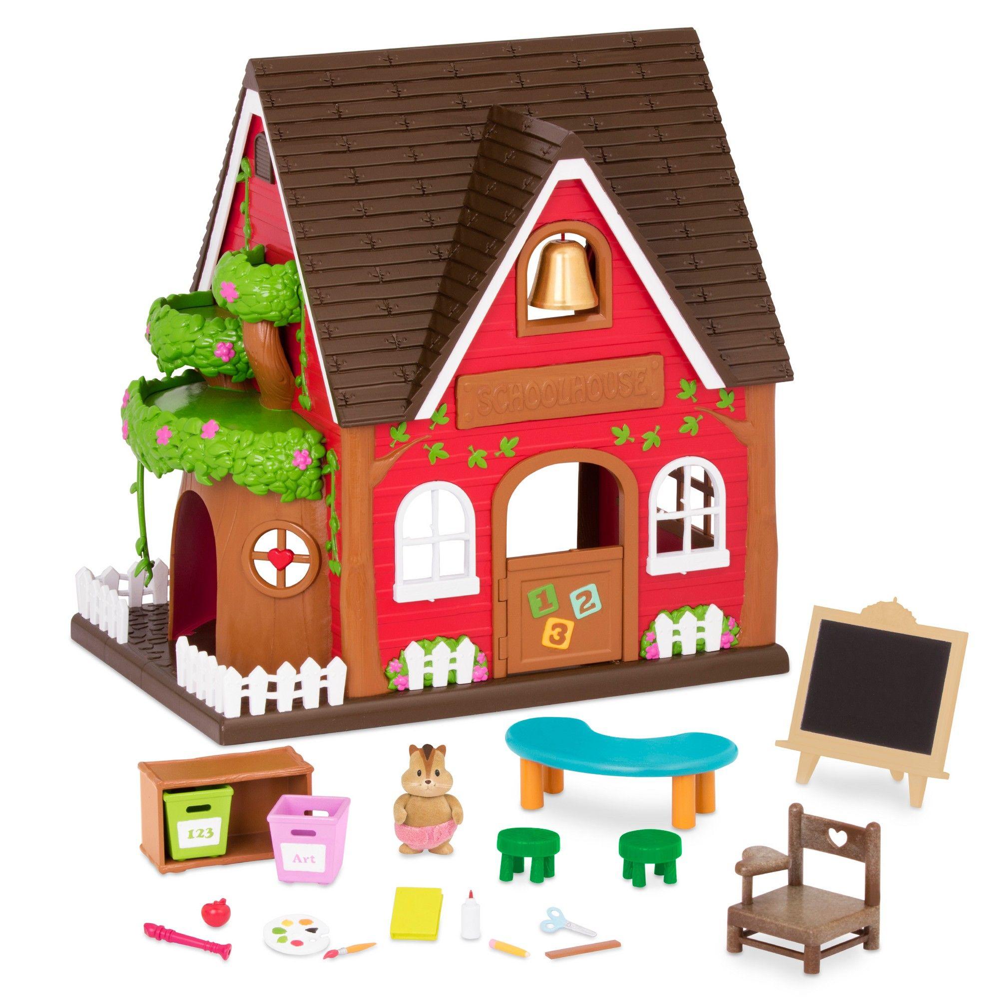 Lil woodzeez elementary school house