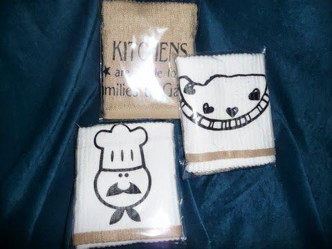 Cute Kitchen Towel Ideas!