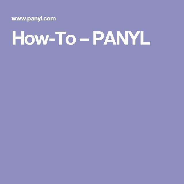 How-To – PANYL
