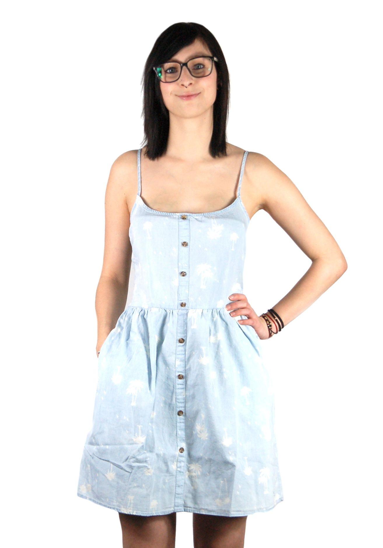 VOLCOM WEIRDETTE DRESS KLEID CHAMBRAY online bestellen: http://www.fourseasonsclothing.de/collections/frauen-streetwear-onlineshop/products/volcom-weirdette-dress-kleid-chambray  #girls #new #springsummer #dress #kleid #kleider #fourseasonsshop