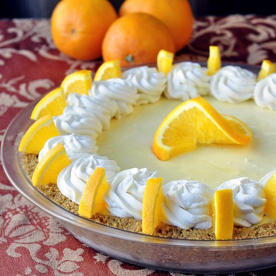 Orange Creamsicle Pie Ever need to make a dessert ahead of time? This is an ideal recipe for that purpose. It is creamy smooth straight out of the freezer with plenty of orange citrus flavor punch that reminds me of one of my favorite ice cream treats as a child. A great idea would be …