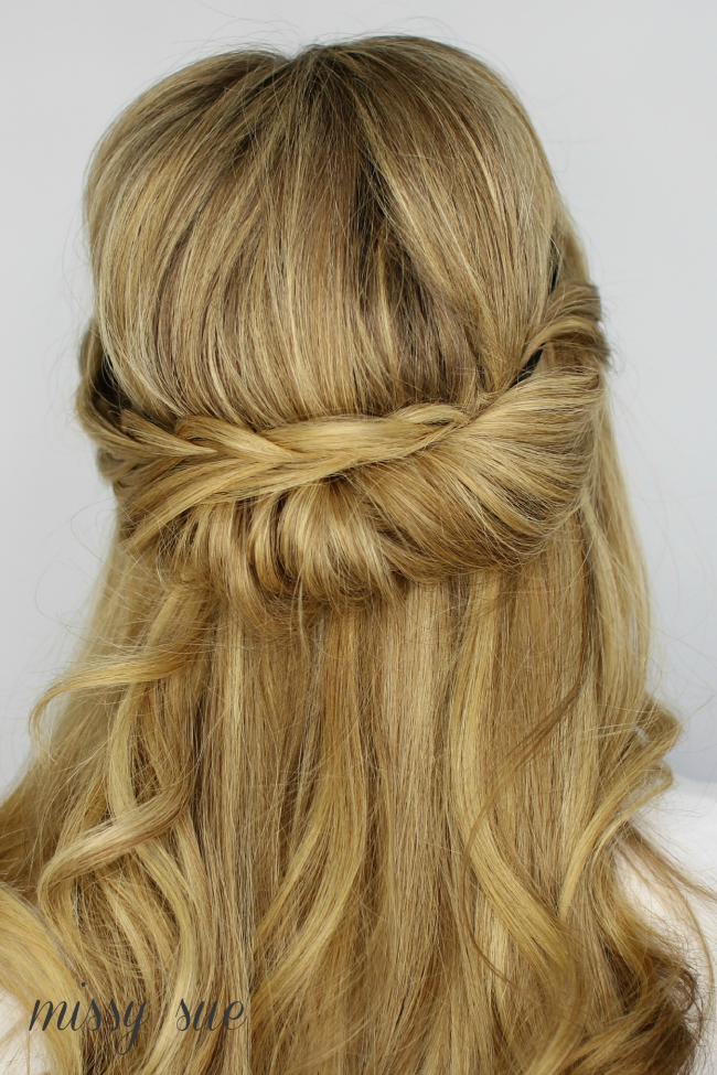 Tuck And Cover Half Looped French Braid Hair Tuck Tuck And Cover French Braid
