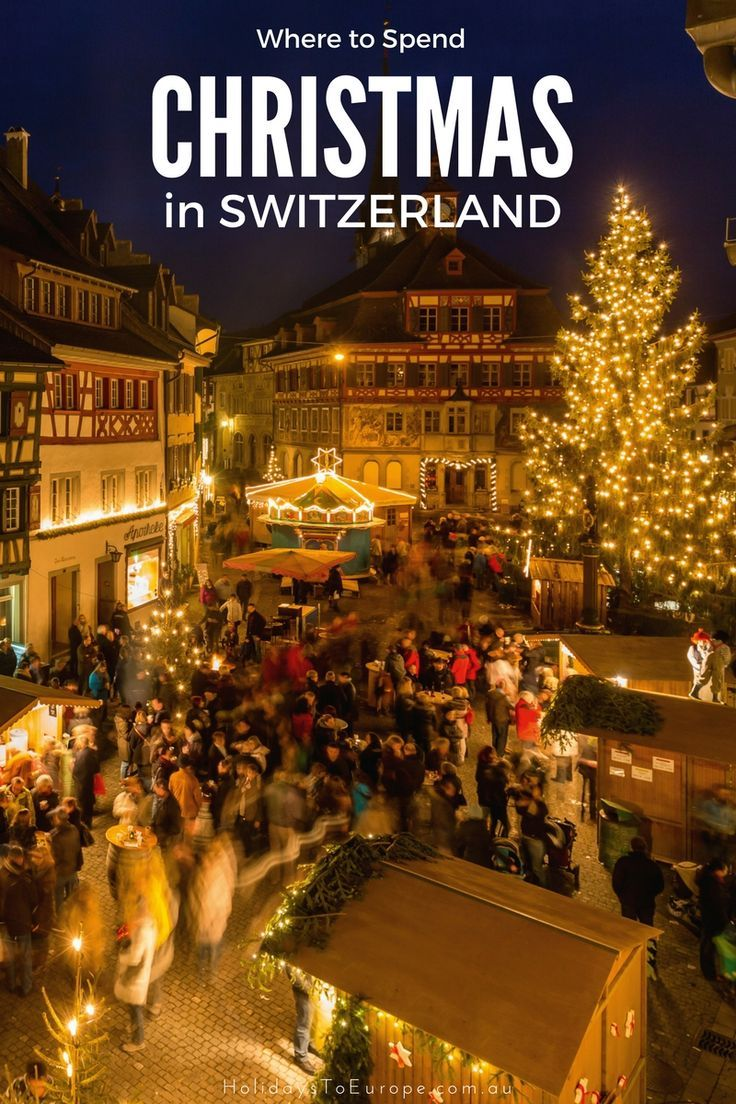 Where to spend Christmas in Switzerland Switzerland