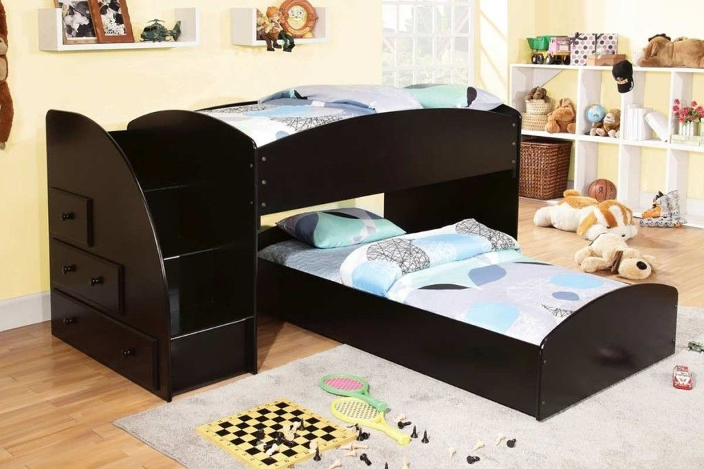 Best Black Low Bunk Beds For Toddlers Low Bunk Beds Low Loft 400 x 300