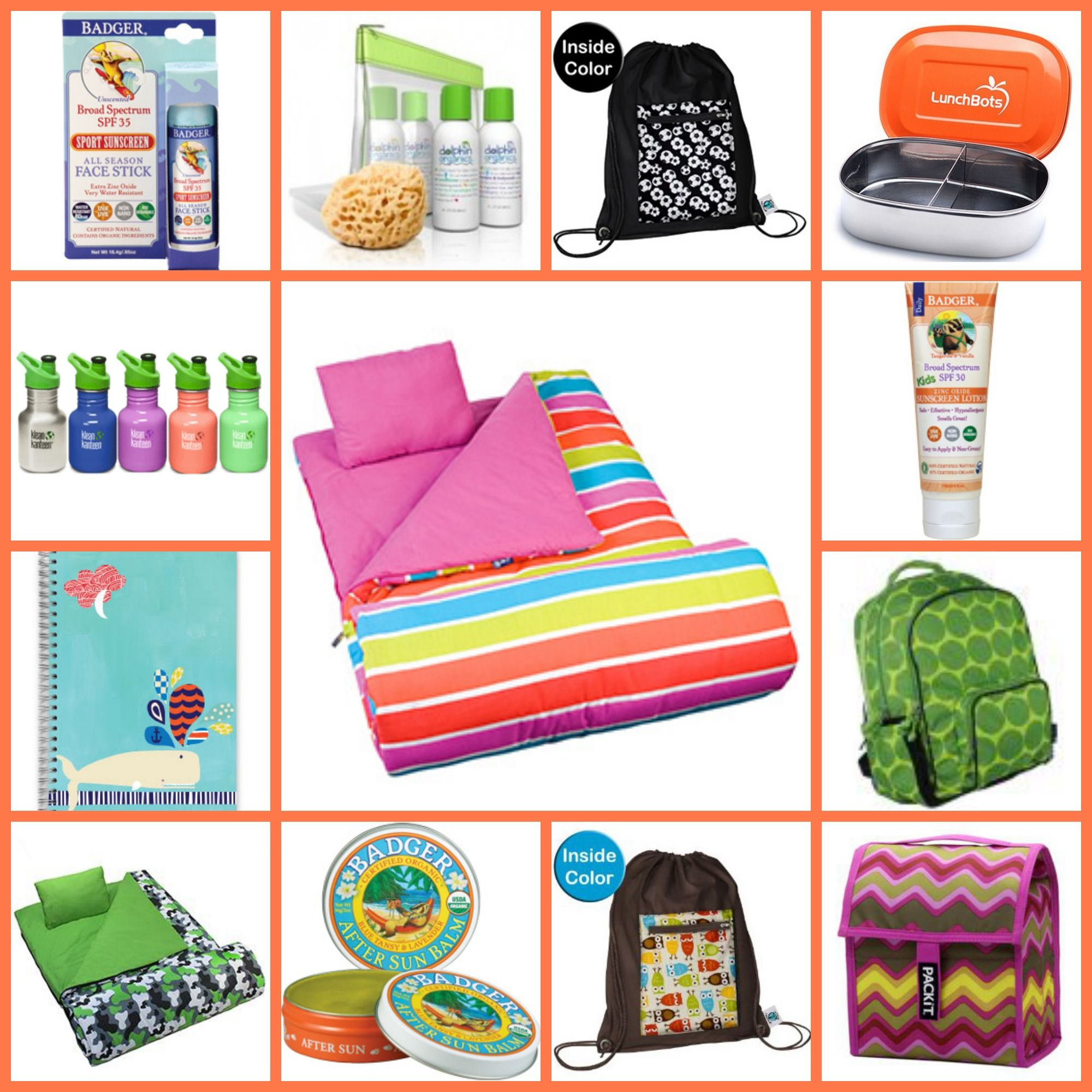 Pin by MightyNest on Summertime | Summer camp care package ...