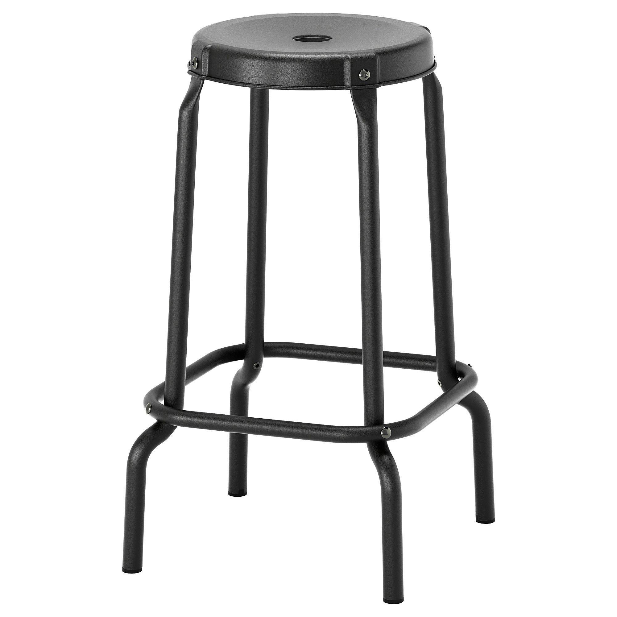 Raskog Bar Stool Black 24 3 4 Ikea Barstools Ikea Raskog
