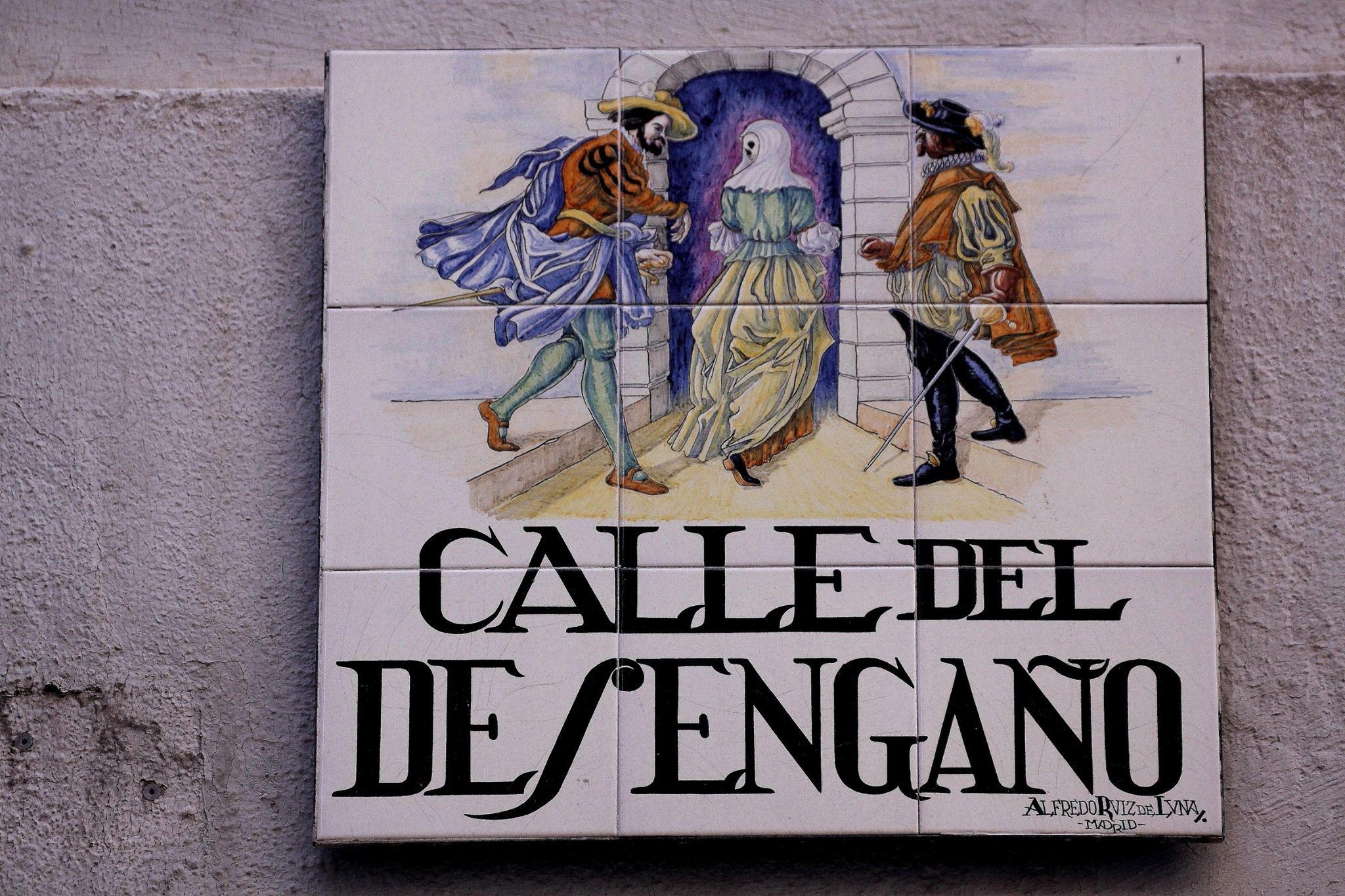 Fotografía de la Calle del Desengaño.