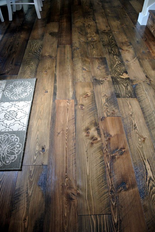 Rough Sawn Oak Floors