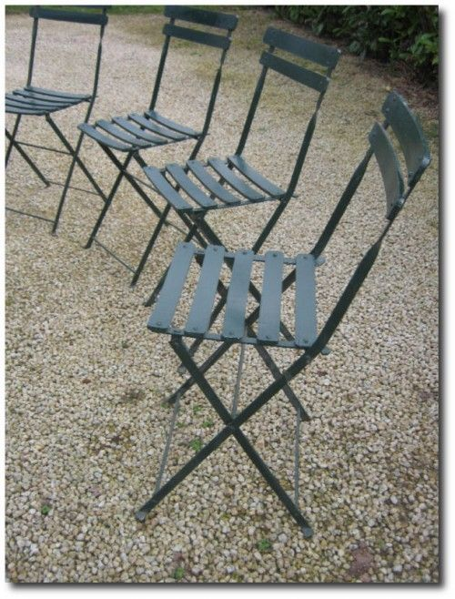 Provence Outdoor Furniture French Provincial, Antique french folding garden  chair - Provence Outdoor Furniture French Provincial, Antique French Folding