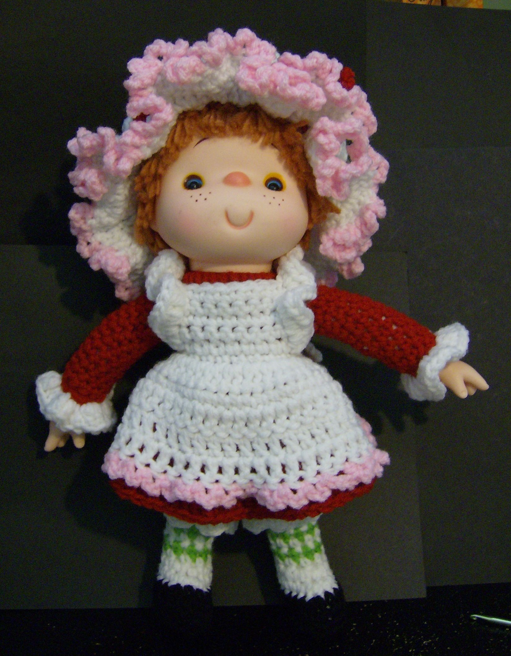Strawberry Shortcake Crochet Doll | Ideas Bonitas | Pinterest ...