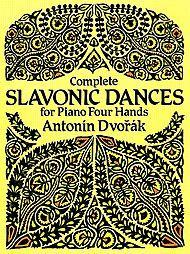 Complete Slavonic Dances - Piano, Four Hands Sheet Music by Antonin Dvorak (1841-1904) | Sheet Music Plus