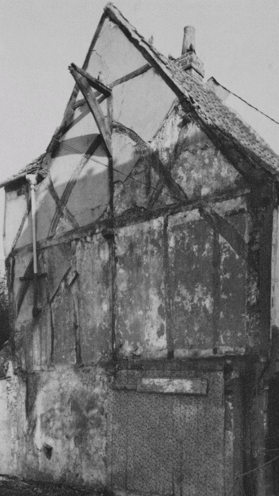Plate 135: Timber-Framing Details | British History Online ...