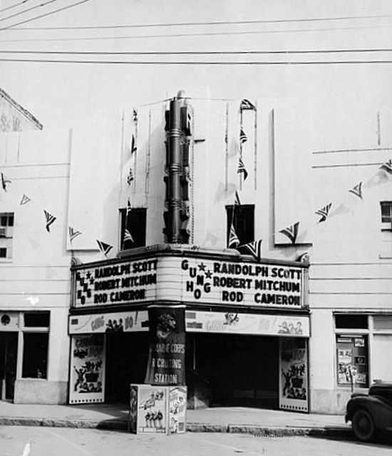 Ritz Theatre in Gainesville, before it became the X rated theater.