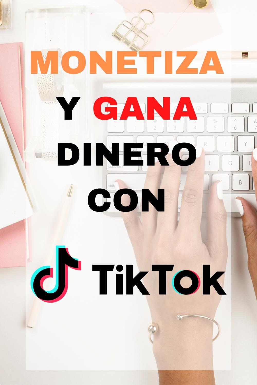 El Mejor Curso Para Monetizar Tiktok Elianny Yanez Marketing De Afiliados Ganar Dinero Desde Casa Como Ganar Dinero
