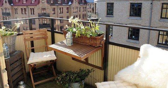 Kast Voor Balkon : Stolik na balkon handige tips outdoor furniture design