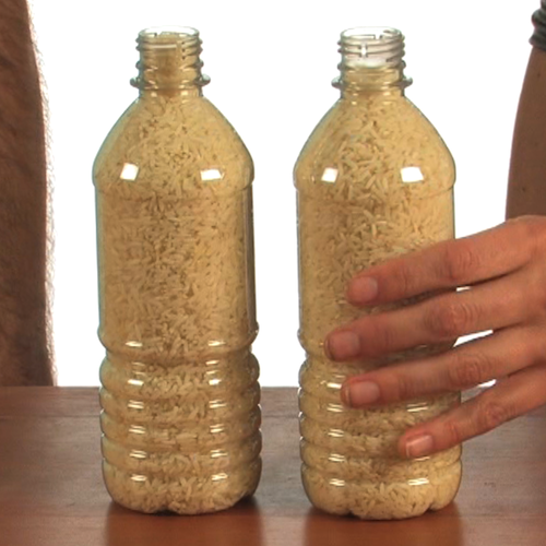 Floating Rice Bottle - Science Magic at Steve Spangler Science