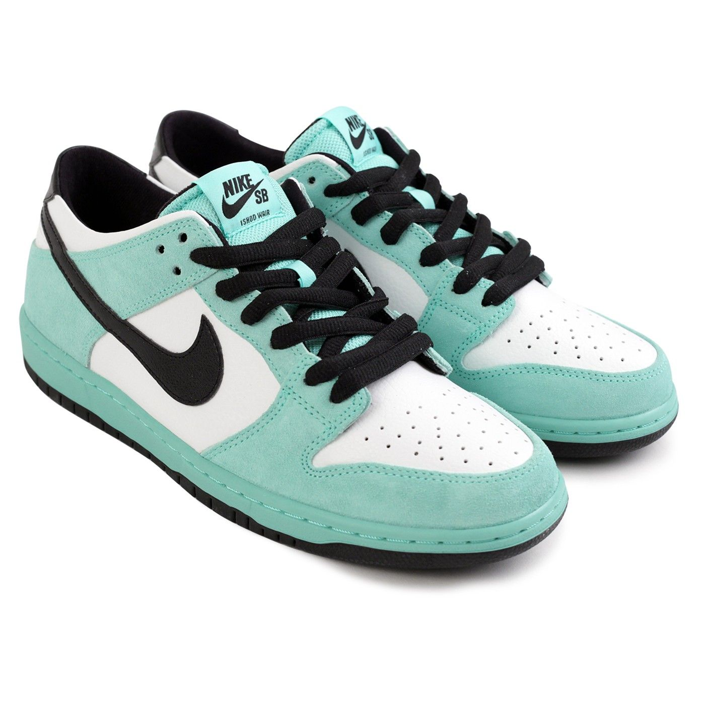 low priced 62dc6 93ad9 Dunk Low Pro Ishod Wair Shoes in Green Glow / Black - Summit ...