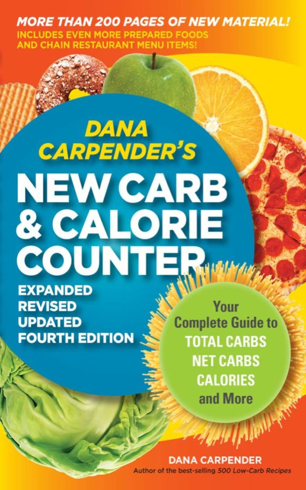 Dana Carpender's NEW Carb and Calorie Counter-Expanded ...